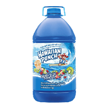 Hawaiian Punch Berry Blue Typhoon Drink 3.78ltr (1 Gallon) (Box of 4)