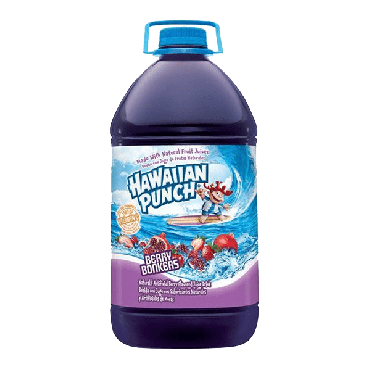 Hawaiian Punch Berry Bonkers Drink 3.78ltr (1 Gallon) (Box of 4)