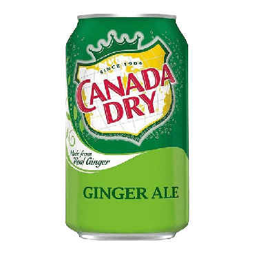 Canada Dry Ginger Ale 355ml (12 fl.oz) (Case of 24)
