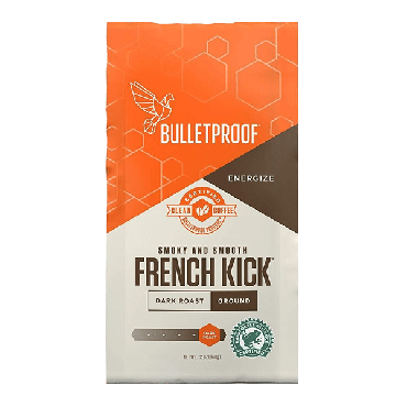 Bulletproof French Kick Ground Coffee (12 oz) 340g (Box of 6)
