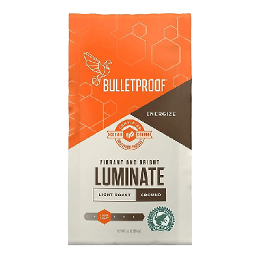 Bulletproof Luminate Light Roast Coffee (12 oz) 340g (Box of 6)