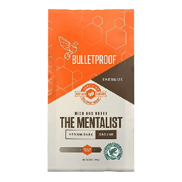 Bulletproof Mentalist Ground Coffee 340g (12 oz) (Box of 6)