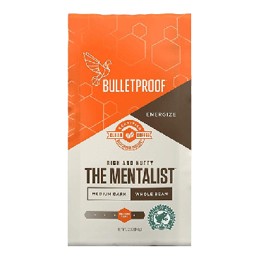 Bulletproof Mentalist Whole Coffee(12 oz) 340g (Box of 6)