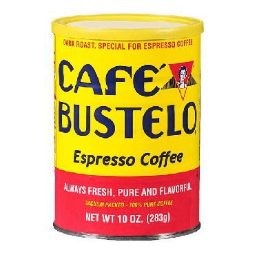 Cafe Bustelo Espresso Coffee Can 283g (10oz) (Box of 24)