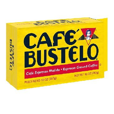 Cafe Bustelo Espresso Ground Coffee 283g (10oz) (Box of 24)