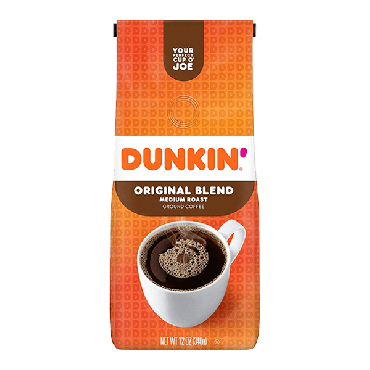 Dunkin Donuts Original Ground Coffee 340g (12oz) (Box of 6)