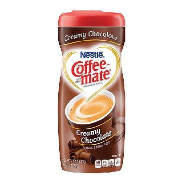 Nestle Coffee Mate Creamy Chocolate Creamer 425g (15oz) (Box of 6)