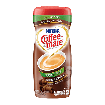 Nestle Coffee Mate Creamy Chocolate Sugar Free 289g (10.2oz) (Box of 6)