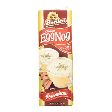 Borden Classic Premium EggNog 946ml (32 fl.oz) (Box of 6)