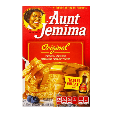 Aunt Jemima Complete Pancake Mix 453g (16oz) (Box of 12)