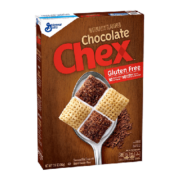 Chex Chocolate Cereal 362g (12.8oz) (Box of 6)