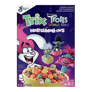 Trix Marshmallow Cereal 275g (9.7oz) (Box of 12)