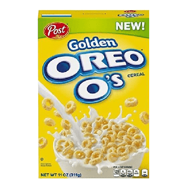 Post Golden Oreo Cereal 311g (11oz) (Box of 10)