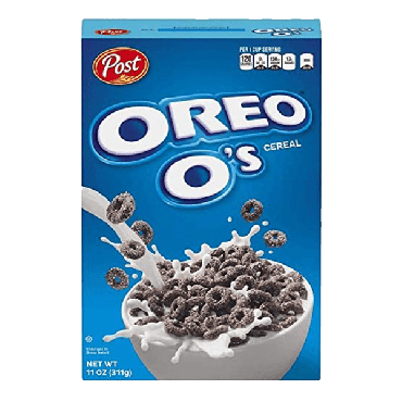 Post Oreo O's 311g (11oz) (Box of 14)  - Best By Due Date 28 June 2021