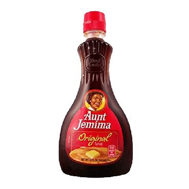 Aunt Jemima Original Syrup 355ml (12oz) (Box of 12) - Best Before Oct 2021