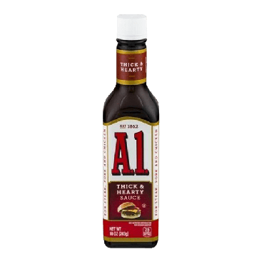 A1 Thick & Hearty Steak Sauce 283g (10oz) (Box of 12)