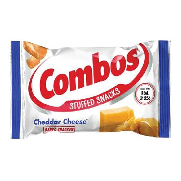 Combos Cheddar Cheese Cracker 48.2g (Box of 18)
