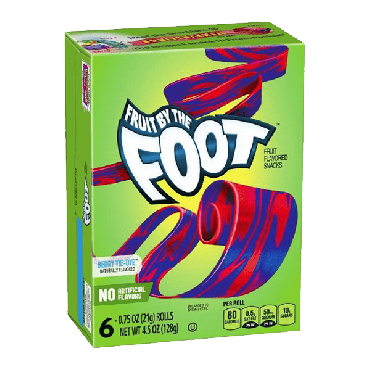 Fruit by the Foot Berry Tie-Dye Rolls 128g (4.5oz) (Box of 4)