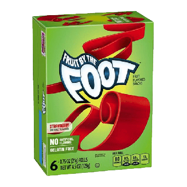 Fruit by the Foot Strawberry 128g (4.5oz) (Box of 4)