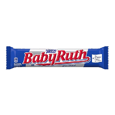 Baby Ruth Chocolate Bar 59.5g (2.1oz) (Box of 24)