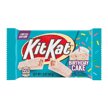 Kit Kat Birthday Cake Bar 42g (1.5oz) (Box of 24)