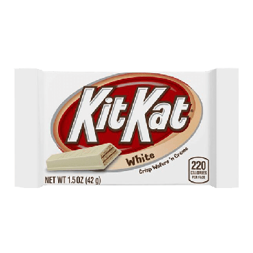 Kit Kat White Chocolate Bar 42g (1.5oz) (Box of 24)