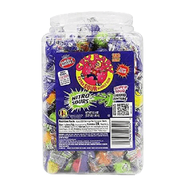 Cry Baby Nitro Sour Gum Jar (240 Count) (Box of 8)