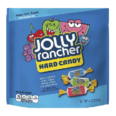 Jolly Rancher Assorted Hard Candies 396g (14oz) (Box of 8)