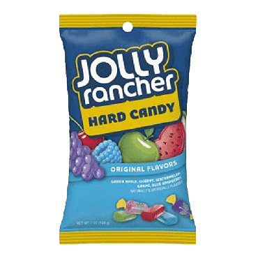 Jolly Rancher Hard Candy Original Flavours 198g (7oz) (Box of 12)