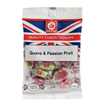 Fitzroy Union Guava & Passion Fruit Sweets 100g (Box of 12)