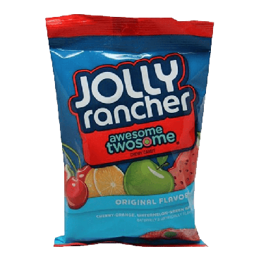 Jolly Rancher Awesome Twosome 184g (6.5oz) (Box of 12)