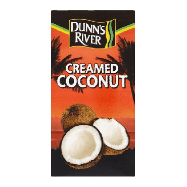 Dunn's River Creamed Coconut  200g (Box of 12)
