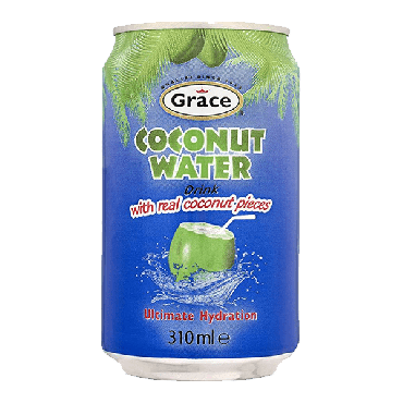 Grace Coconut Water with Pulp 310ml (Case of 12)