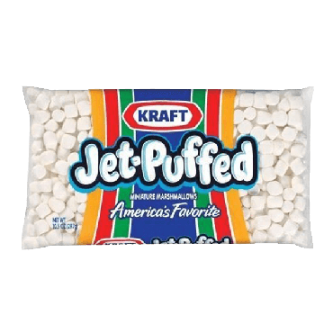 Kraft Jet-Puffed Mini Marshmallows 283g (10oz) (Box of 24) - Best By Due Date 02 May 2021