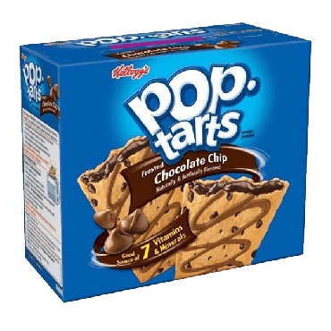 Pop Tarts Frosted Chocolate Chip 576g (20.3.2oz) (6 x 2 Piece) (Box of 12)