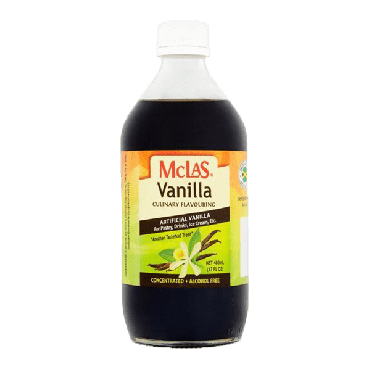 Mclas Vanilla Essence 480ml (Box of 24)