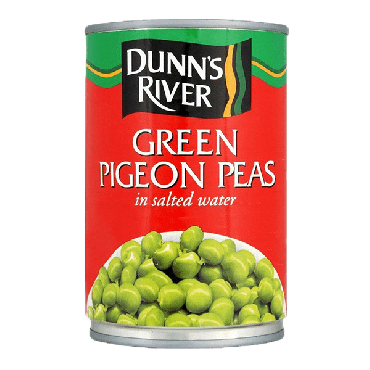Dunn's River Green Pigeon Peas 425g (Box of 12)