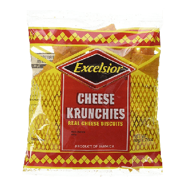 Excelsior Cheese Krunchies 50g (Box of 36)