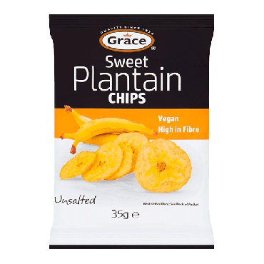 Grace Sweet Plantain Chips 35g (Box of 30)