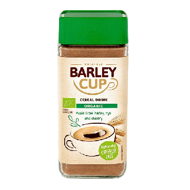 Barleycup Organic Organic Natural Instant Grain Coffee 100g (Box of 6)