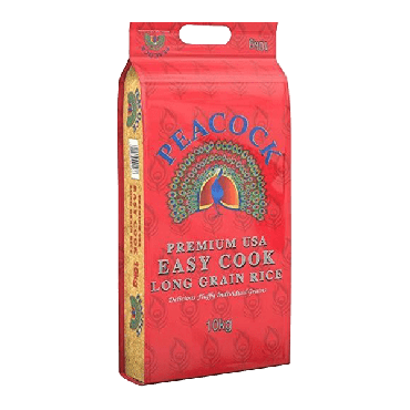 Peacock Easy Cook Rice  10kg