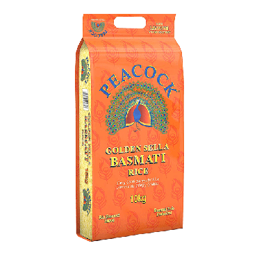 Peacock Golden Sella Rice 10kg