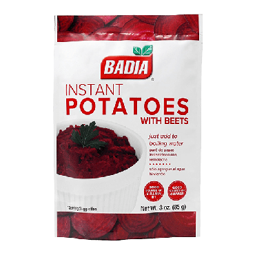 Badia Instant Potatoes with Beets 113.4g (4oz) (Box of 6)
