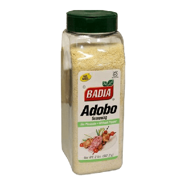 Badia Adobo without Pepper 907.2g (2lbs) (Box of 6)