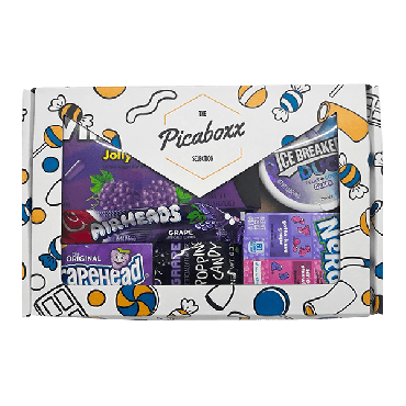 Picaboxx Grape American Candy Selection Gift Box ★ 6 Products Pack (Box of 6)