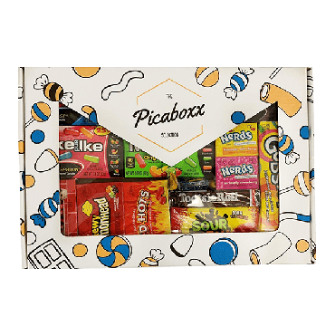 Picaboxx American Candy Selection Gift Box ★ 10 Products Pack (Box of 6)