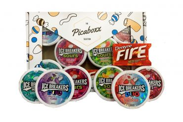 Picaboxx Ice Breakers American Candy Selection Gift Box ★ 7 Products  (Box of 6)