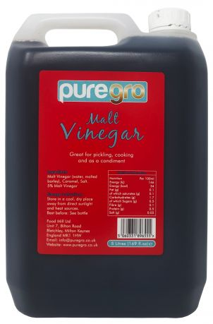 Puregro Malt Vinegar 5 lts (1.69 fl.oz) (Box of 4)