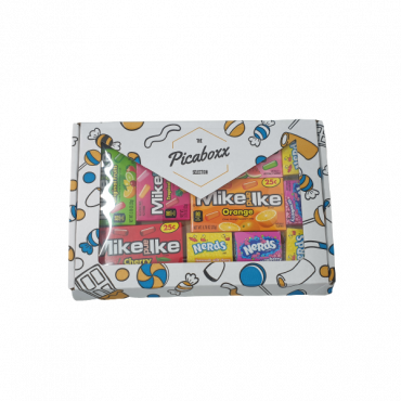 Picaboxx American Mike Ike & Nerds Selection Gift Box ★ 10 Products Pack (Box of 6)