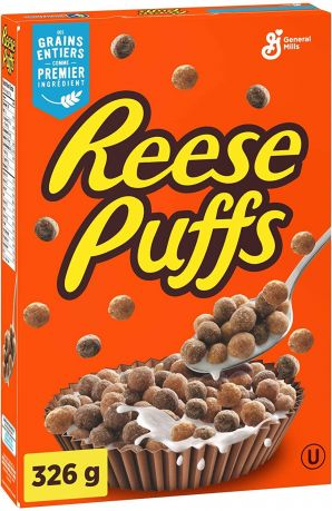 Reese's Puffs 326g (11.5oz) (Box of 12) - Canadian